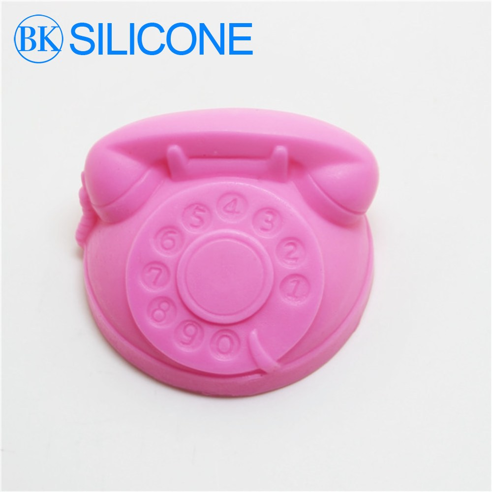 Cake Decoration Molds : Aliexpress.com : Buy 2015 new telephone soap silicon molds ...