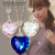 Neoglory Austria Crystal Gold Plated Heart Long Necklaces & Pendants for Women 14K Gold Plated Jewelry Accessories 2015 He-y HE1