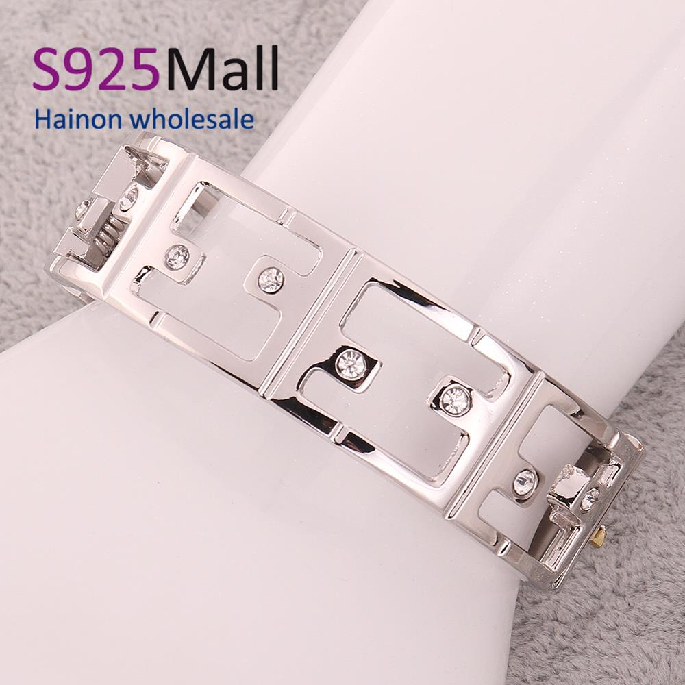 2015 Special Offer Direct Selling Cubic Zirconia Bangles Z002-a Christmas Jewelry Fashion Personalized Metal Bracelets For(China (Mainland))
