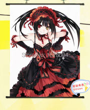 Home Decor Anime Date A Live Tokisaki Kurumi POSTER WALL Scroll