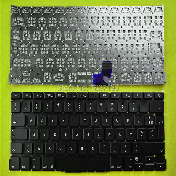 Free shipping!Original new FR French laptop keyboard for APPLE MacBook Pro A1502 BLACK(For Backlit )(China (Mainland))