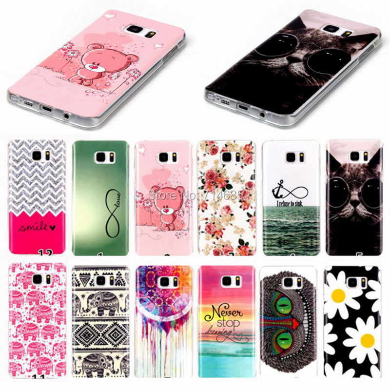 Cool Design Soft TPU Silicone Phone Case Cover Skin for Samsung Galaxy Note 5 Dual SIM SM-N9208 Note5 Verizon SM-N920VZ(China (Mainland))