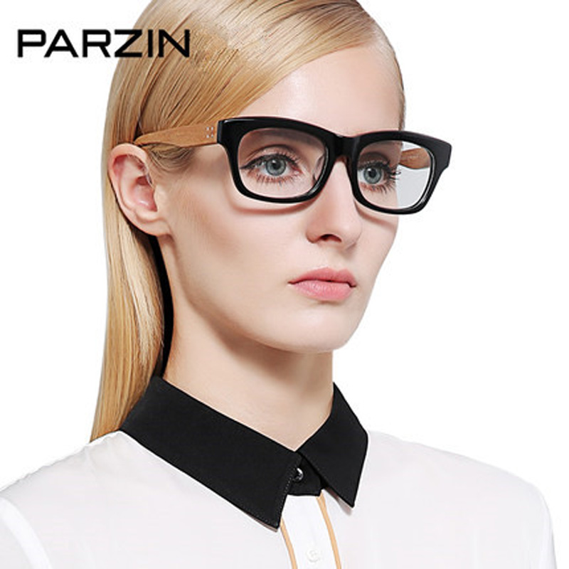 Aliexpress.com : Buy Parzin Vintage Eyeglasses Frame Big ...