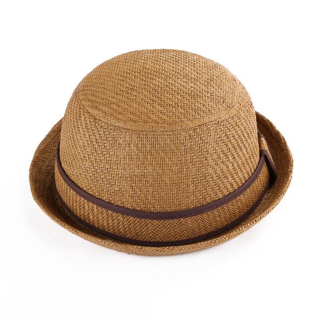 6 цвет необязательно края небольшой соломенная шляпа на месте женские открытый солнца ...