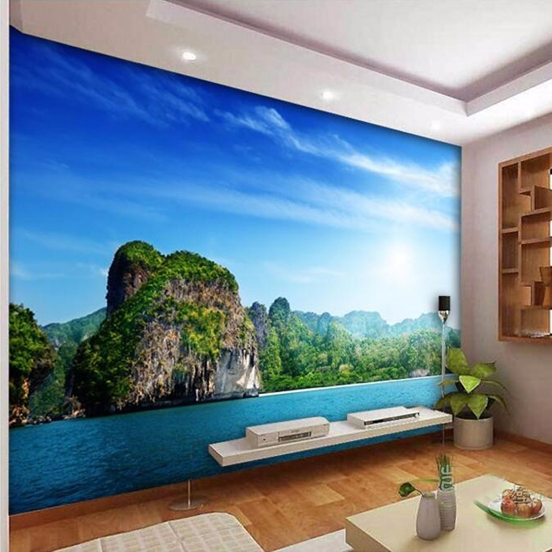 Compare prices on fiber decor wall covering online for Custom mural cost