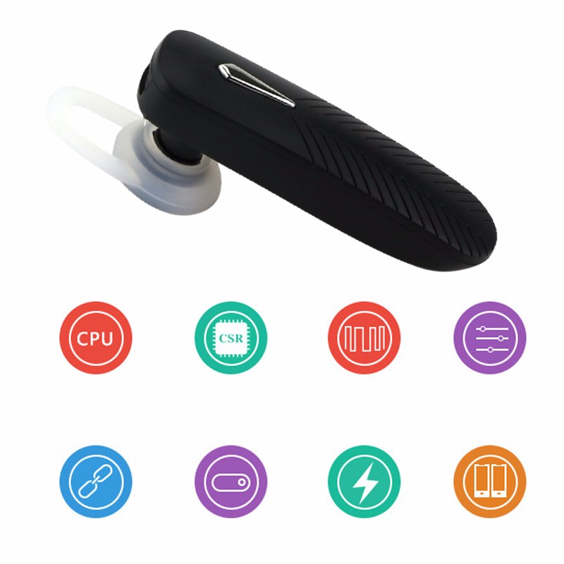 B1 Bluetooth 4.0 Headset Wireless Headphone Stereo Music Earphones Earpiece Sport with Mic for iPhone Xiaomi LG Android Phone