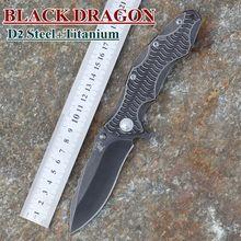 2015 XINZUO nuevo cuchillo rodamiento lavadora nueva cuchillo plegable D2 acero inoxidable stonewashed hoja con titanio manejar envío gratis