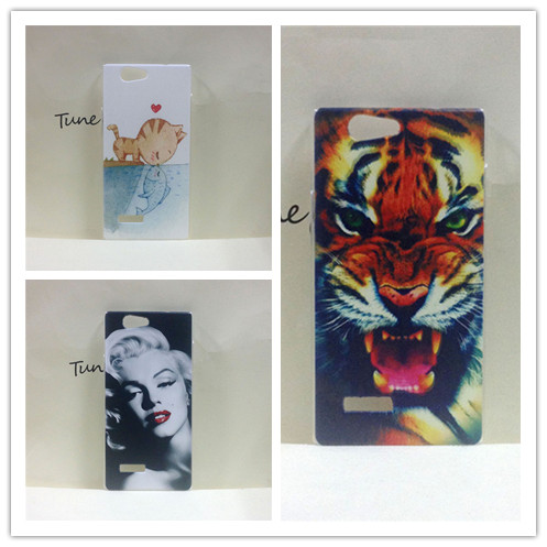 For ZTE Blade L2 case,100% Quality Hard PC Material Painting Phone Cover For ZTE Blade L2 + 1 screen protector(China (Mainland))