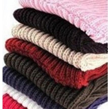 Fashion Korean autumn winter scarf women Warm Knit Neck Circle Wool Blend Cowl Snood Ring Scarves Long Scarf Shawl Wrap(China (Mainland))
