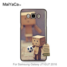 Luxury Fashion 3D Phone Case For GALAXY J710 case Danboard Football Soccer Player(China (Mainland))