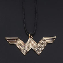 Film Wonder Woman Bros Emas Antik Wonder Woman W Huruf Awal Logo Bros dan Pin(China)