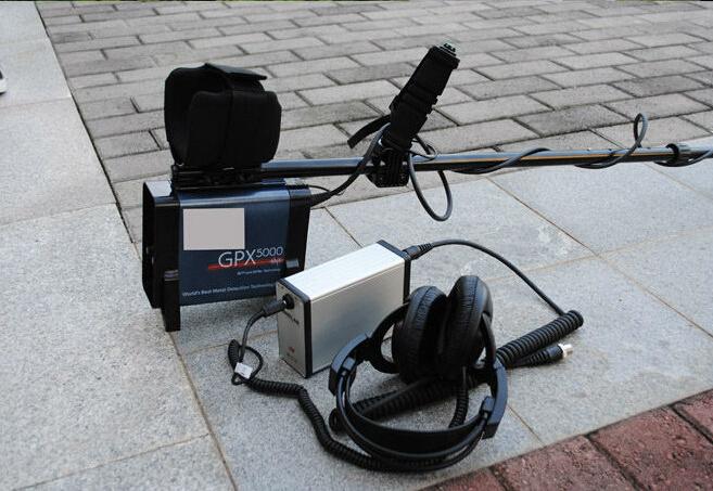 DHL Free Shipping Underground Gold Detector,Ground Search Gold Detector GFX5000 with earphone GFX5000 Long Range Gold Detector(China (Mainland))