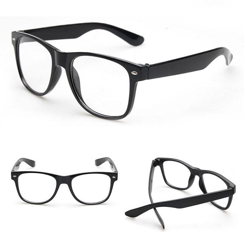 Fashion Vintage Clear Lens Frame Glasses Trendy Goggles for Men Women