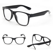 Fashion Vintage Clear Lens Frame Glasses Trendy Goggles for Men Women