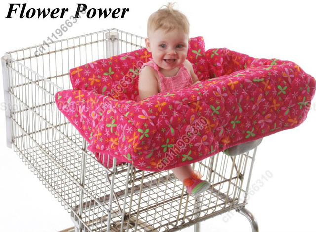 Baby kids child infant toddler boys girls shopping cart cover/grocery/trolley cart cover/shopping trolley seat cover/cushion/pad