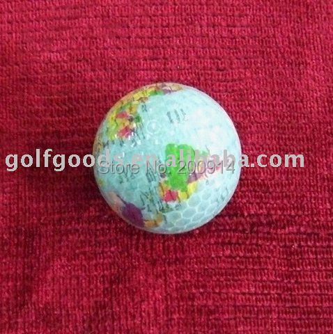 300 pcs bulk packing gift golf ball,globe golf ball,promotion golf ball,map golf ball(China (Mainland))