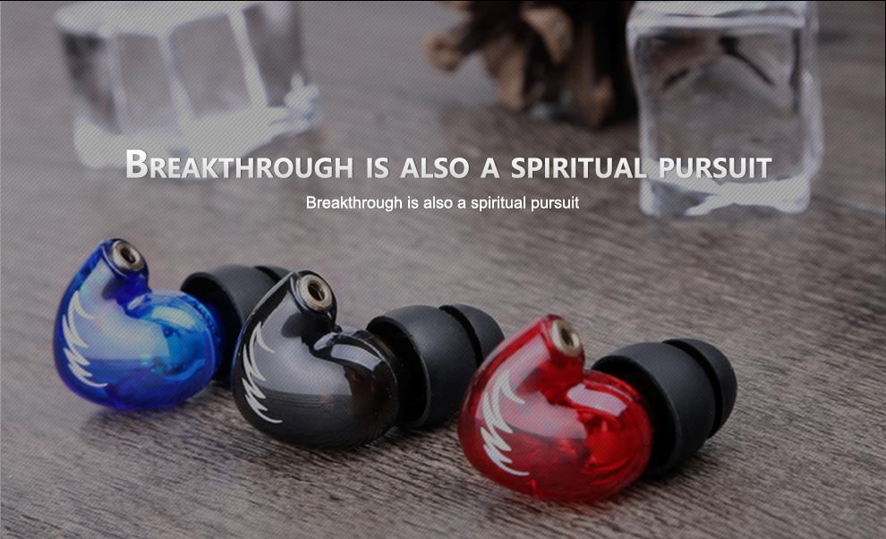 QKZ W3 In-Ear Earphones New arrival Sports Earphone in ear bass HiFi portable Headset fone de ouvido auriculares audifonos