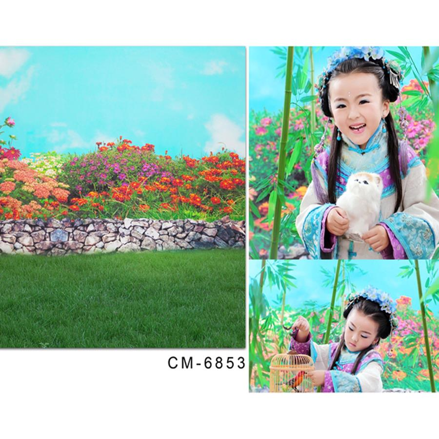 10x20ft(300x600cm) vinyl backdrop baby Garden stone lawn photo booth backdrop<br><br>Aliexpress