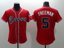 Top quality Mens # 6 Bobby Cox 10 Chipper Jones 24 Deion Sanders Jerseys color white gray red blue green(China (Mainland))