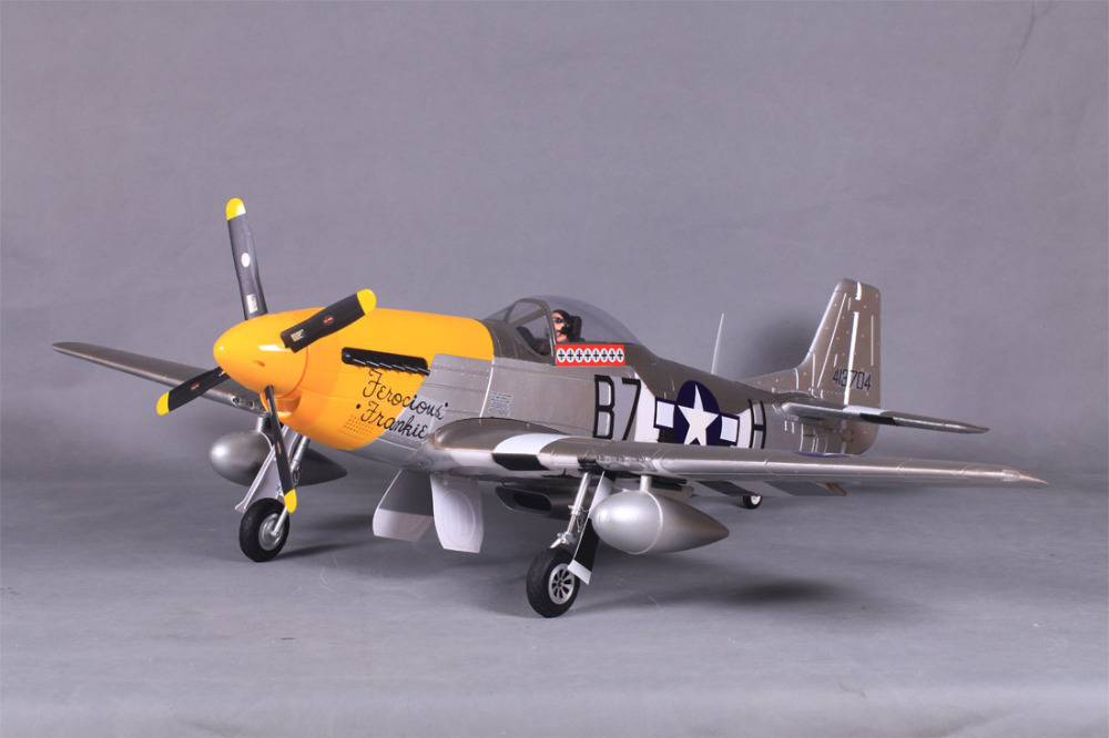FMS Gaint Warbird 1400MM 1.4M P51 P-51D Mustang Ferocious Frankie FF V8 PNP Durable EPO Big Scale RC Model Plane Aircraft(China (Mainland))