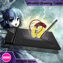 The XP-Pen G430 4 x 3 inch Ultrathin Graphic Drawing Tablet for Game OSU and Battery-free stylus- designed! Gameplay(China (Mainland))