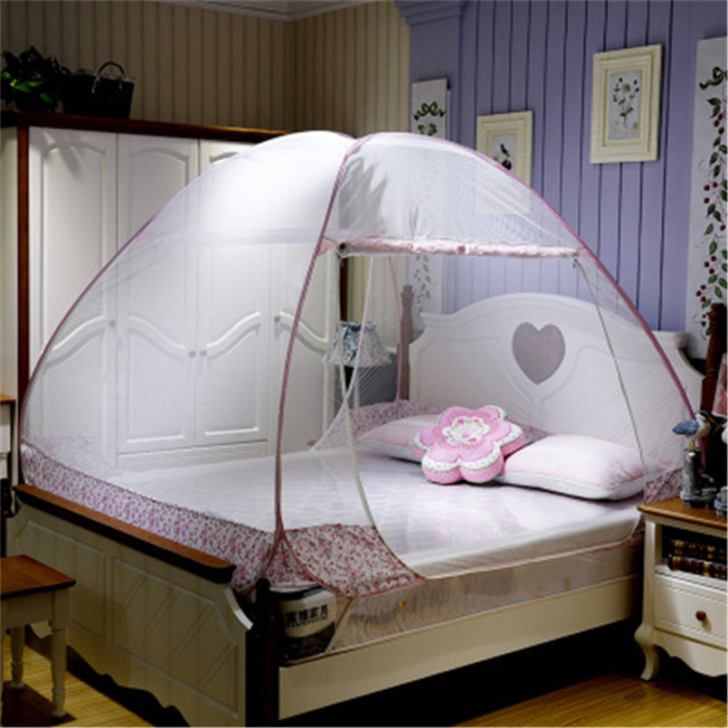 Moustiquaire Lit Mosquito Nets Curtain Bedding Set 5 Colors Princess Bed Canopy Bed Netting Tent Mosquiteiros De Teto Magic Mesh(China (Mainland))