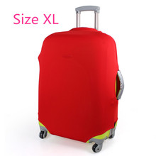 Free shipping printed elastic polyester travel luggage cover for 20-32inch suitcase Protective Cover Travel Trunk Dirt-Proof(China (Mainland))