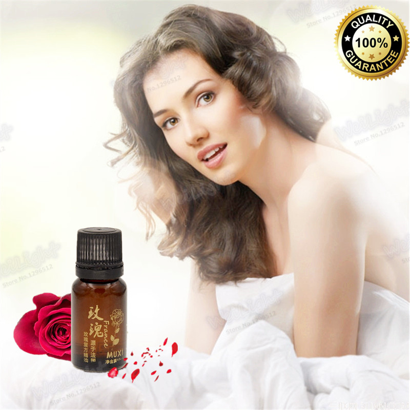 10ml pure natural virgin organic Rose oil cold pressed Nature Rose oil skin&hair care essential oils body massage oil(China (Mainland))