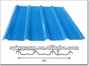 roof corrugated galvanized coated steel sheet