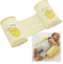 High-quality Wholesale Cute Cartoon Cotton Baby Anti Roll Pillow Massager Infant And Newborn Nursing Pillows Bedding For Kids(China (Mainland))