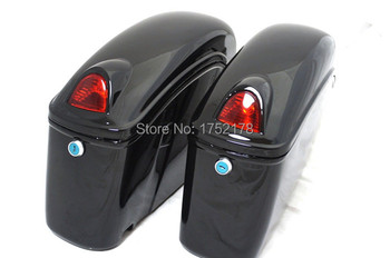 FY--china smart,with light,with high quality,ABS motorcycle saddlbag