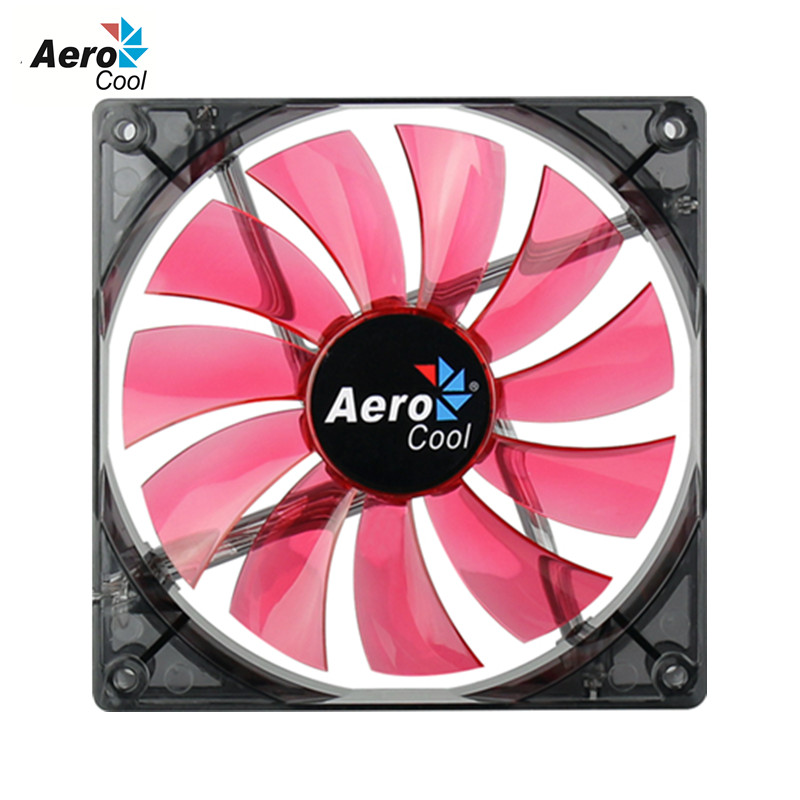Aerocool Lightning 140mm PC Fan Case Cooling Fan 12v 3 Pin &4 Pin For Computer Cooling Fan 14cm Simple Version(China (Mainland))