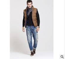 2016 New Arrival Men Jacket Vest Waistcoat Military Vest Homme Winter Warm Vest Male Sleeveless Bodywarmer Jacket(China (Mainland))