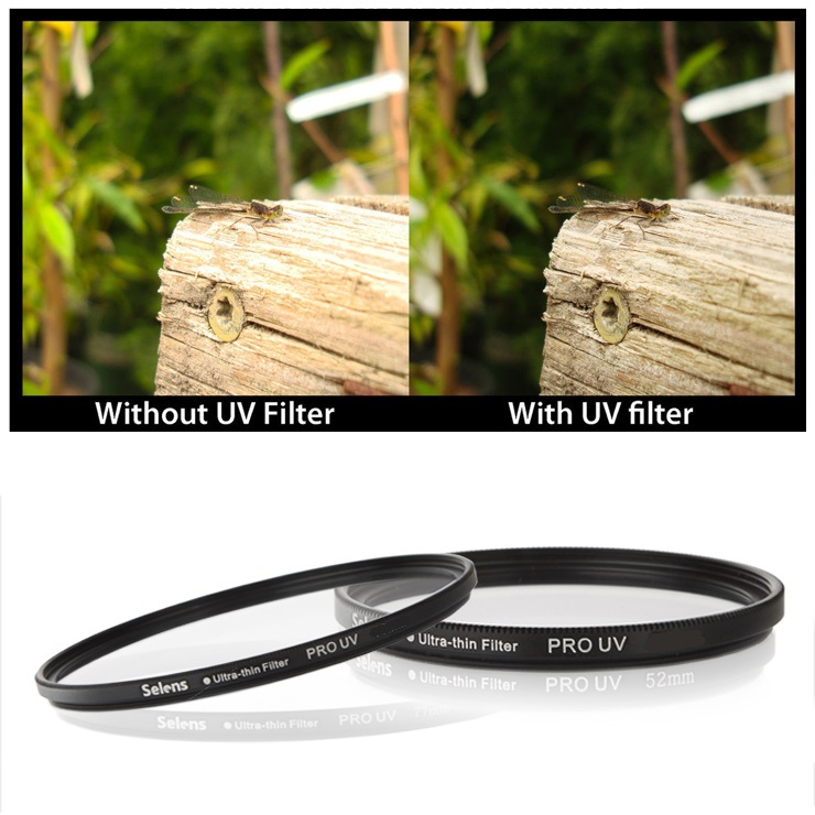 DSLR Equipment Selens UV Filter 43mm Lens Protector for Pentax Sony Nikon Canon Camera Sigma with Storage Container Photographic(China (Mainland))
