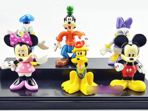 Figurine mickey et ses amis pour gateau - Mickey mouse et ses amis ...