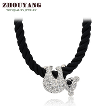 Cute koala 18K Platinum Pated Pendant Necklace Fashion Jewelry Austrian Crystal N153 N227(China (Mainland))