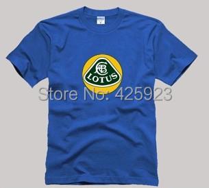 F1 lotus cars 100% short-sleeve cotton t-shirt lovers T-shirt(China (Mainland))