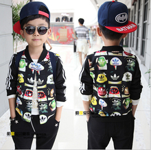 2015 children s new autumn children s fashionable coat jacket zipper cardigan male baby child free