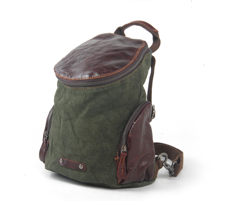 Cloth canvas leather women men Europe Shoulders Vintage Linen Ladies Daily Leisure Travel Bag Street green pink brown(China (Mainland))