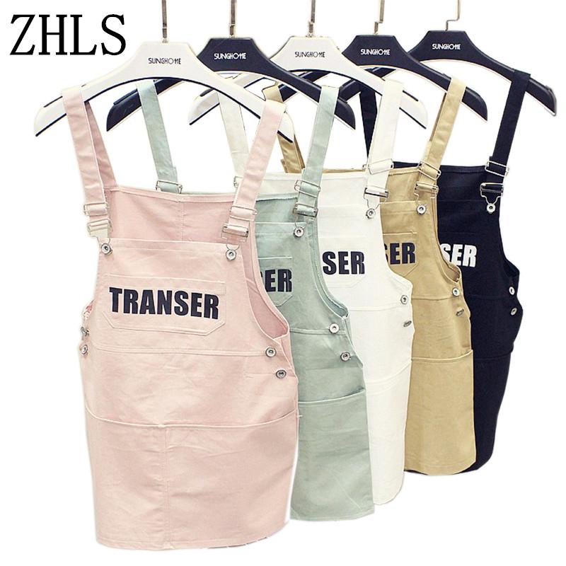 2016 Spring Summer white black pink vintage denim dress Women cotton Suspenders vestidos ladies plus size strap Vest Dress(China (Mainland))