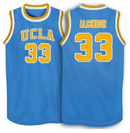 Cheap Ncaa #33 Lew Alcindor jerseys UCLA Bruins College Basketball Jersey Men's Embroidery basketball jersey
