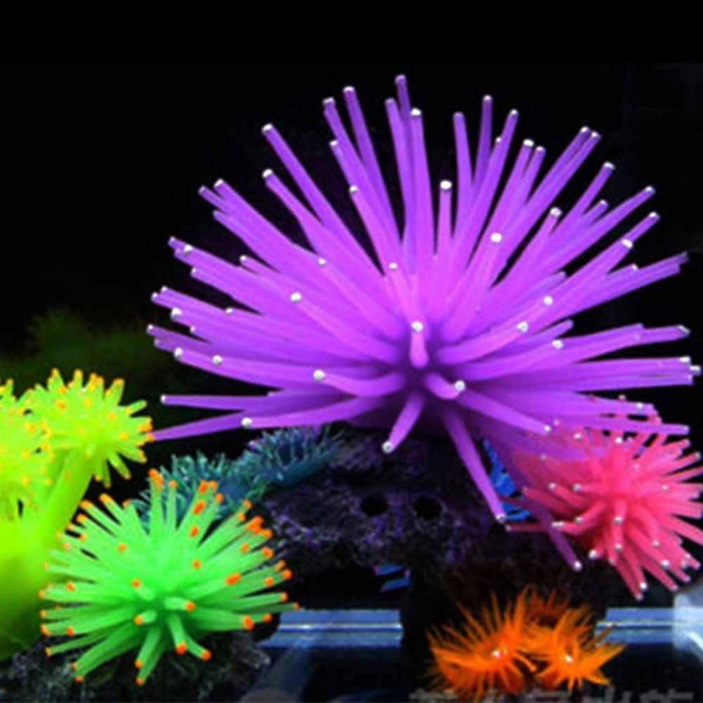 Diy silicone aquarium fish tank decor artificial coral for Aquarium coral decoration