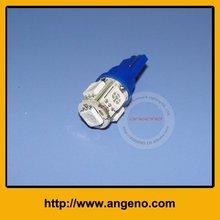 LED auto light T10-5SMD 5050 Super Bright Blue(China (Mainland))