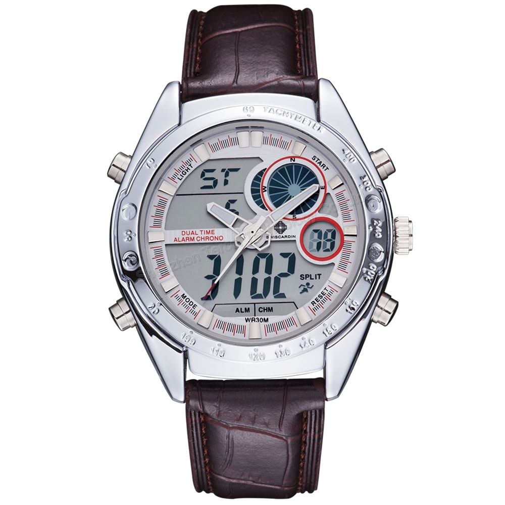how to use a chronograph wrist watch