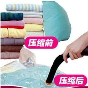 Wholesale 1 Piece Large Space Saver Saving Storage Bag Vacuum Seal Compressed Organizer Hot Sale Ma(China (Mainland))