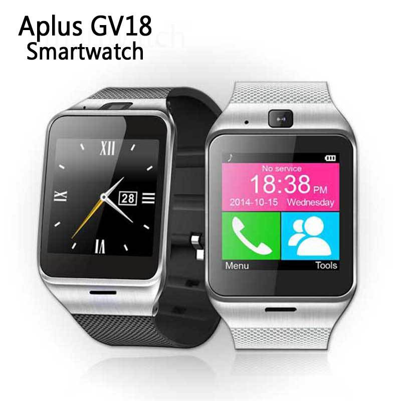 GV18 smart watch Bluetooth synchronization SIM card Wish TF Card aliexpress 1 foreign trade(China (Mainland))