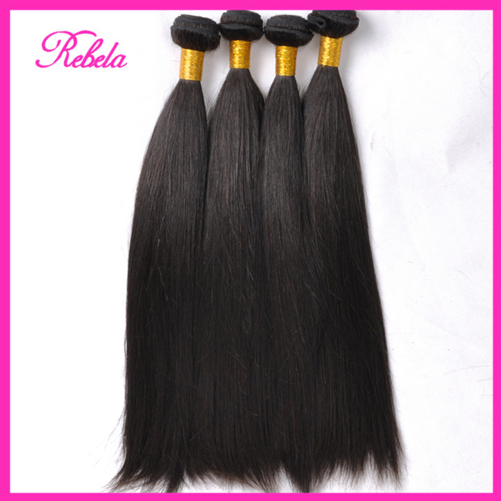 7A Guangzhou New Star Brazilian Virgin Hair Straight Cheap Human Weave Bundles 8-30 King - Rebela hair products Co.,Ltd store