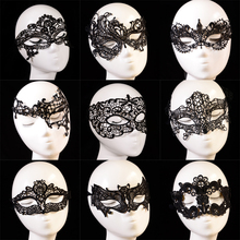 Hot Fashion Photo Photography Lace Cutout Party Eye Mask Goggles Veil Sexy Halloween Masquerade Sexy Lady Black 5013