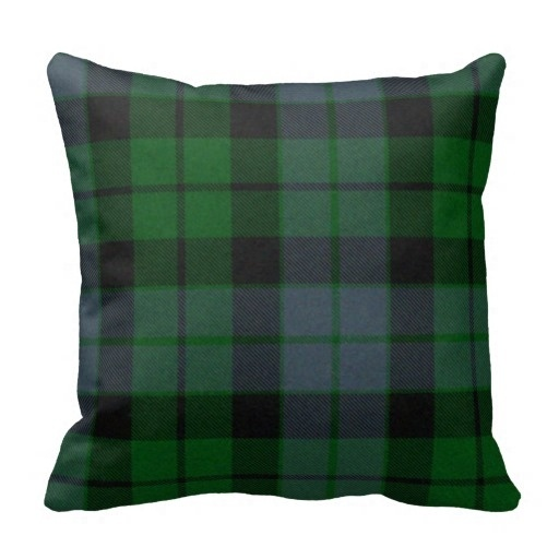Wonderful Traditional Mackay font b Tartan b font Plaid Pillow Case Size 45x45cm Free Shipping