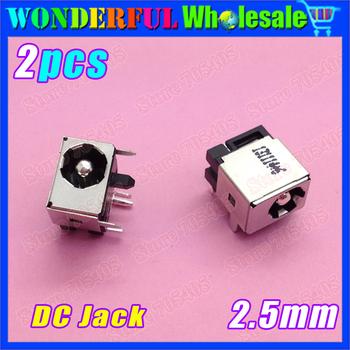 2x New Power DC IN Jack , DC Port, DC Jack Socket fit for Asus N53S N53SN N53SV 2.5mm